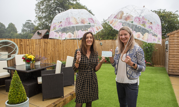 FALKIRK WOMAN WINS TOP GARDENING COMPETITION