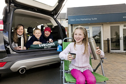 Buyers Camp Out In Car Park To Secure New Homes