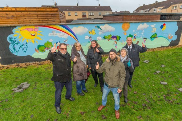 Walker Group Helps Transform Play Park